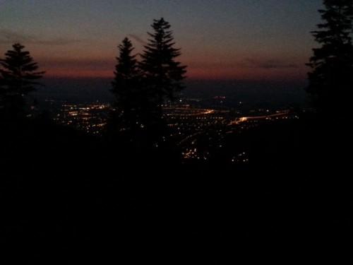 Bielsko Biała nocą